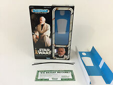 "brand new Star wars 12"" obi-wan kenobi jedi training box + inserts"