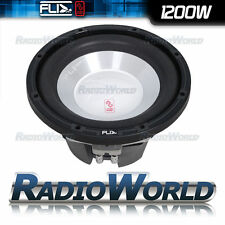 "FLI Frequency 12"" Car Audio Sub Subwoofer 1200W Bass Speaker 305mm 2014 Model"