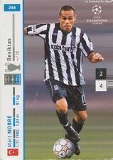 N°234 MERT NOBRE # TURKEY BESIKTAS CARD CARTE PANINI CHAMPIONS LEAGUE 2008