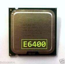 CPU Intel Core 2 Duo E6400 Procesador (2M Cache, 2.13 GHz, 1066 MHz FSB)