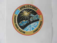 Vintage NASA Beta Cloth Mission Patch Unused: APOLLO-SOYUZ Test Project