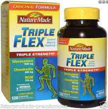 NEW NATURE MADE TRIPLE FLEX STRENGHT WITH VITAMIN D3 COMFORT MOBILITY BODY CARE