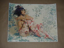 Sergio Lopez Greensleeves signed numbered print poster Hush only 40 exist!