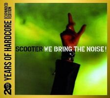 SCOOTER - WE BRING THE NOISE: 20 YEARS OF HARDCORE 2 CD TECHNO ELECTRONIC NEU