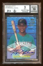 BGS 9 *10* AUTO MIGUEL CABRERA 2000 TOPPS TRADED RC AUTOGRAPH AUTO SP AMAZING RC