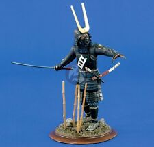 Verlinden 120mm (1/16) Samurai Warlord w/drawn Katana Sword Vignette w/Base 1403