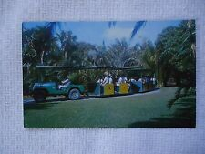 Coral Gables, Florida: The Rambler Taking Visitors on Guided Tours Fairchild