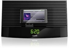 Philips AS140 Fidelio Android Dock Alarm Clock FM Radio Bluetooth Micro-USB