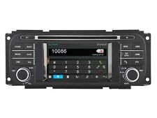 Car Radio Stereo Sat DVD Navigation GPS For Jeep Grand Cherokee Liberty Wrangler