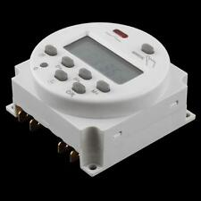 Durable AC 220V-240V Digital LCD Programmable Timer Time Switch Connection