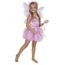 ORCHID FAIRY pink princess garden nymph girls toddler halloween costume XS 4-6