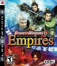 Dynasty Warriors 6 Empires PS3 - LN - Game Disc Only