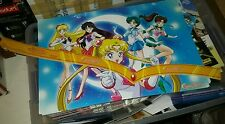 SDCC 2015 Comic Con Exclusive VIZ Media Sailor Moon dual sided POSTER + TIARA
