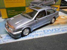 FORD Sierra RS Cosworth Coupe silber blue 1986 - 1987 RHD Corgi Vanguards 1:43