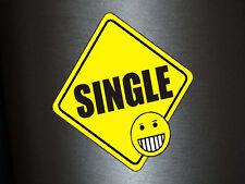1 x adhesivo Single cara sonriente escudo plaquita Smile sticker tuning pegatinas auto