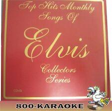 Top Hits Monthly Elvis Series #6 Karaoke 16 Song CD+G MEMPHIS WAY DOWN MOODY BLU