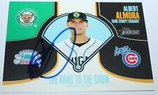Albert Almora signed 2013 Topps Heritage Road to the Show Rookie card auto SP