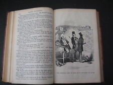VINTAGE BOOK CHARLES DICKENS LIFE & ADVENTURES MARTIN CHUZZLEWIT & ILLUSTRATIONS