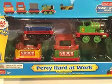 NIP - Diecast Percy Hard at Work for Thomas Train Take N Play or Take Along