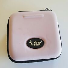 NEW PINK GAME BOY ADVANCE SP FOAM CARRYING CASE + SCREEN FOR SYSTEM