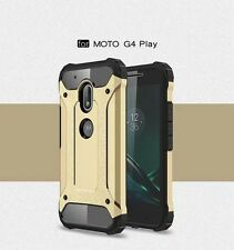 Armor Shockproof Heavy Hybrid PC+TPU Cover Case For Motorola Moto G4/Plus Play