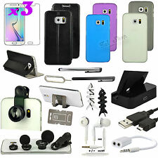 19 in 1 Accessory Case Cover Dock Charger Fish Eye For Samsung Galaxy S6 Edge
