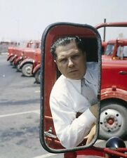 "JAMES ""JIMMY"" RIDDLE HOFFA LABOR UNION LEADER PETERBILT 8X10 GLOSSY PHOTO"
