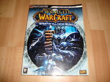WORLD OF WARCRAFT WRATH OF THE LICH KING GUIDE GUIA OFICIAL BRADYGAMES USADA