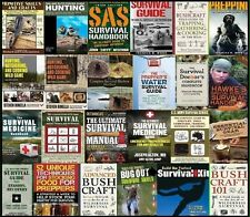 PREPPERS, BUSHCRAFT, OUTDOORS SURVIVAL GOLD 30 BOOKS THAT COULD SAVE YOUR LIFE