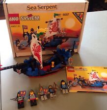 Lego 6057 Black Knights SEA SERPENT Castle Boat with Instruction Manual