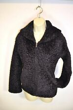 Womens Fluffy Dark Plum PURPLE PATAGONIA SYNCHILLA Jacket Full Zip Front S Small