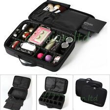 Pro Artist Cosmetic Carrying Bag Waterproof Makeup Case Jewelry Storage Suitcase
