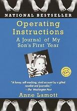 Operating Instructions: A Journal of My Son's First Year, Anne Lamott, Good Book
