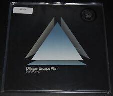 """Dillinger Escape Plan """"Ire Works"""" 12"""" LP silver vinyl Ltd.Ed. 25th Relapse NEW"""