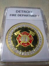 DETROIT Fire Dept. Commemorative Challenge Coin