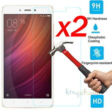 2x Anti-Scratch Tempered Glass Screen Protector Film For Xiaomi Redmi Note 4 New