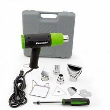 Kawasaki Black 10-Piece Heat Gun Kit, 840015, Power Tool, New, Free Shipping