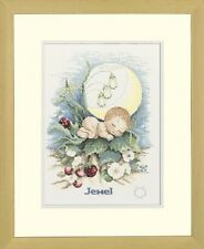 Birthsign Element: Earth - Lanarte Counted Cross Stitch Kit w/27 Ct. Evenweave