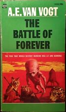 The Battle of Forever by A.E. Van Vogt 1st Edition '71 Science Fiction Paperback