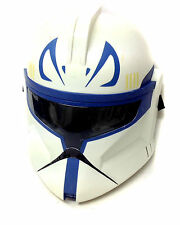 STAR WARS Hard Plastic CAPTAIN REX CLONE TROOPER Mask Helmet costume, cosplay