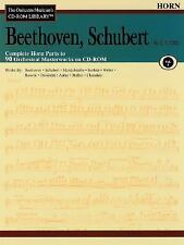 Orchestra Musician's CD-ROM Library Volume 1 Horn Beethoven Schubert &-ExLibrary