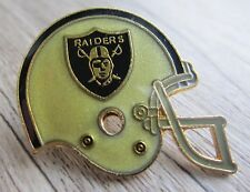 American Football - Super Bowl - NFL - Los Angeles Raiders- Helm als Pin - Kult!