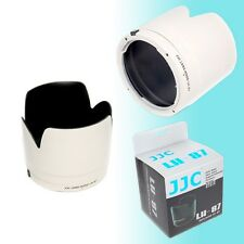 White ET-87 Lens Hood Shade Canon EF 70-200mm f2.8L IS USM II 77mm Thread JJC