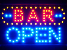 "ADV PRO led072-b BAR OPEN Led Neon Signs 13"" x 9"""