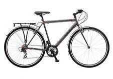 "Viking Hampstead Mens 700c Wheel Urban Hybrid Bike 21 Speed Grey 22"" Frame Grey"