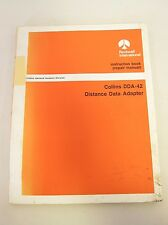 Collins Service Repair Manual Instruction Book DDA-42 Distance Data Adapter