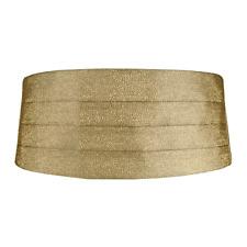 Gold Metallic Cummerbund and Pre-Tied Bow Tie