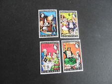 DOMINICA 1970 SG 312-315 CHRISTMAS MNH