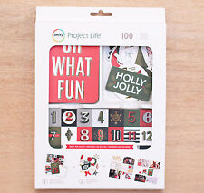Becky Higgins Project Life DECK THE HALLS VALUE KIT (100) PCS scrapbooking