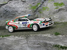 QSP Toyota Celica GT-Four 1:24 #10 Wevers / Ecker Golden Tulip Rally 1998